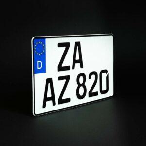 Lkw-Kennzeichen-Optimiert